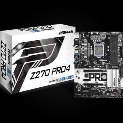 Ver Asrock Z270 Pro4