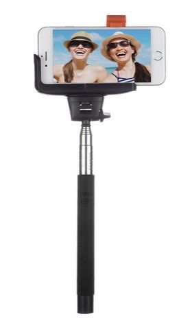 Baston Extensible Selfie BT Inntegrado Premium NegRO