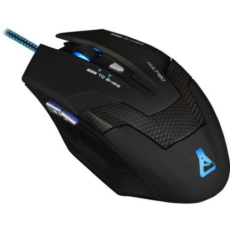 Ver Bluestork KULT80 USB 2400DPI Negro mano derecha raton