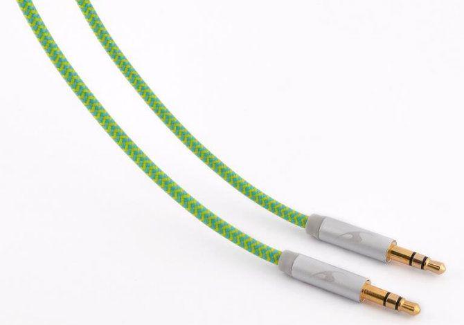 Ver Bluestork TRENDY AUX F 1 2m 35mm 35mm Verde cable de audio