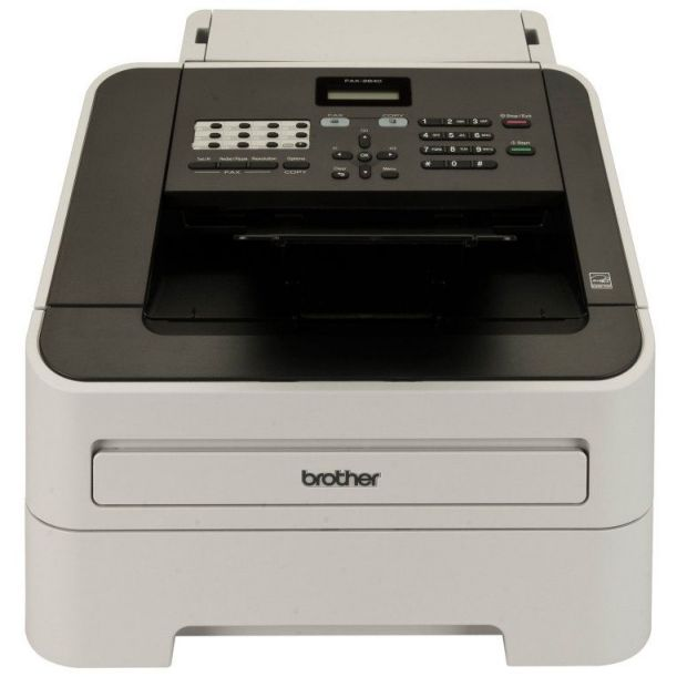 Ver Brother FAX 2840 Laser 336Kbits A4 Negro Gris fax