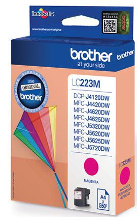 Ver Brother LC 223MBP Magenta cartucho de tinta