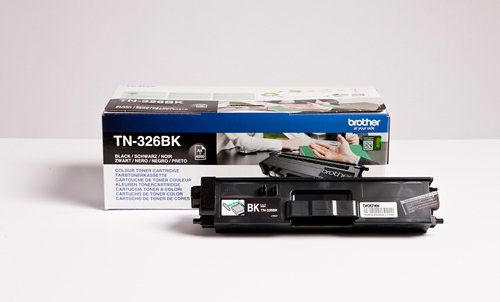Ver Brother TN 326BK Toner 4000paginas Negro toner y cartucho laser