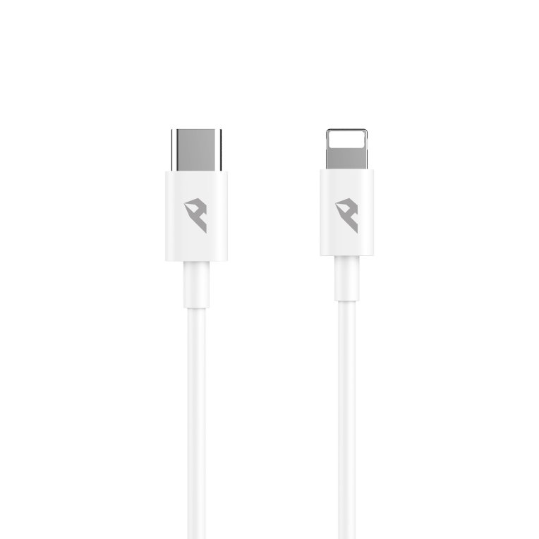 CABLE ENJOY TIPO C O THUNDERBOLT 3 A LIGHTNING 3A 1M BLANCO
