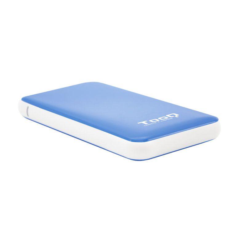 Caja Externa 2 5 Sata Tooq Azul Usb 3 1 95mm