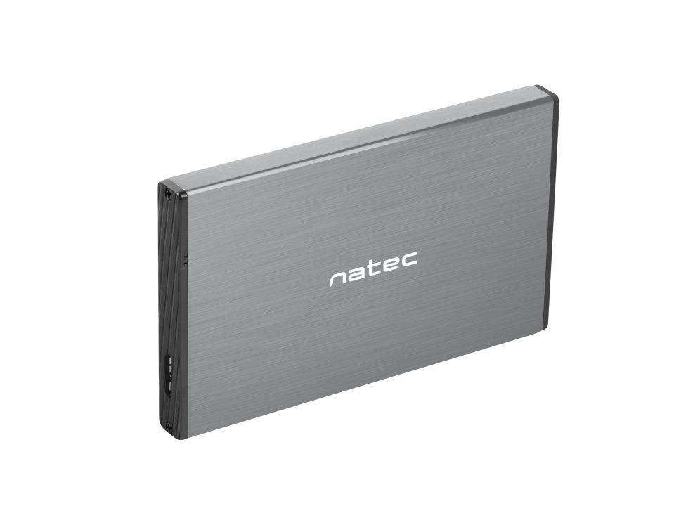 Caja Externa Natec Rhino Go Disco Duro 2 5 Usb 3 0 Sata Gris