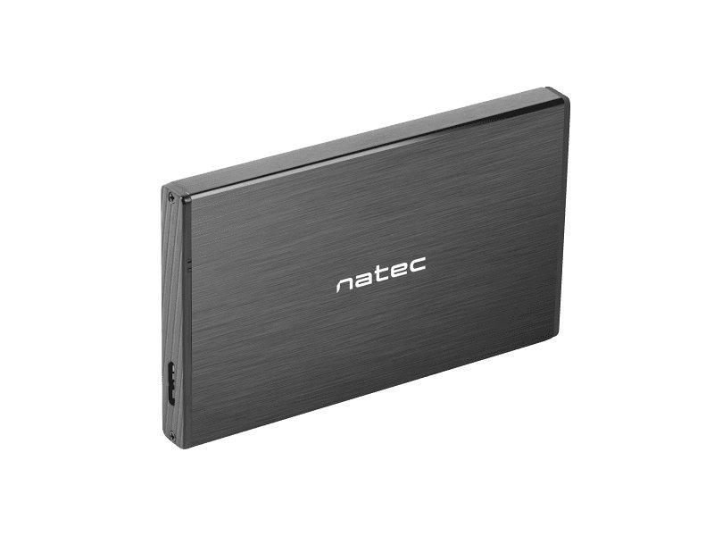 Caja Externa Natec Rhino Go Disco Duro 2 5 Usb 3 0 Sata Negra