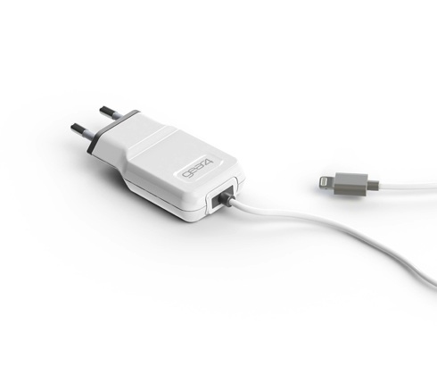 Cargador Enchufe Gear4 Applec10 1amp Microcharger