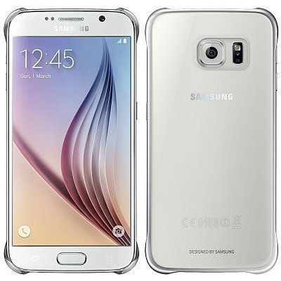 Ver Samsung CLEAR COVER S6 PLATEADO