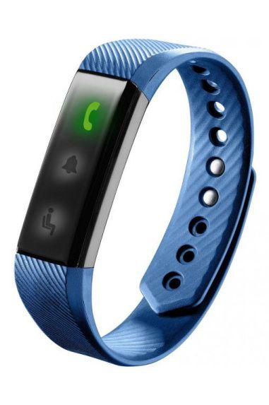 Cellularline Easyfit Band Wristband activity tracker LED Inalambrico IP67 Negro Azul