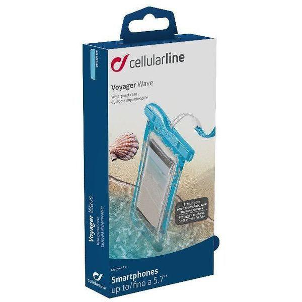 Cellularline Voayager Wave 5 7 Azul Transparente