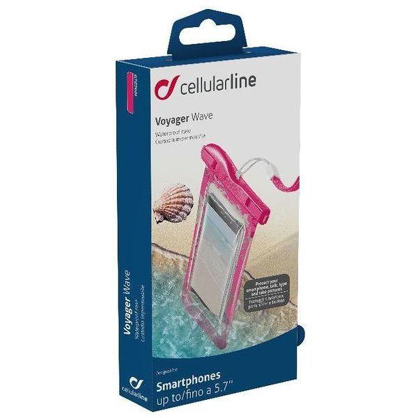 Cellularline Voayager Wave 5 7 Rosa Transparente