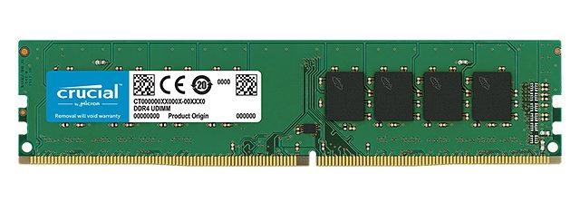 Ver DDR4 CRUCIAL 16GB 2666