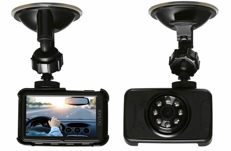 Ver Denver CCT 5001MK2 Full HD Negro dashcam