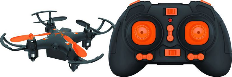 Denver DRO 110 4rotores 150mAh Negro Naranja dron con camara