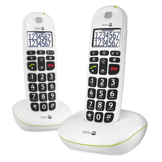 Ver Doro Easy 110 Duo Telefono DECT Color blanco