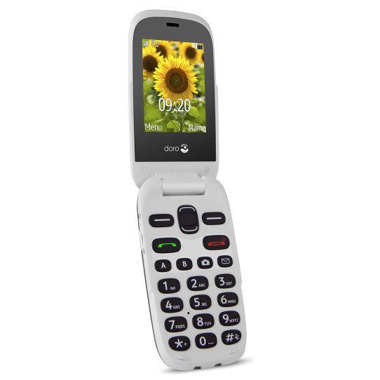 Ver Doro PhoneEasy 6030 24 94g Gris Color blanco