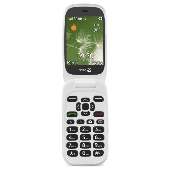 Ver Doro PhoneEasy 6520 28 108g Grafito Color blanco