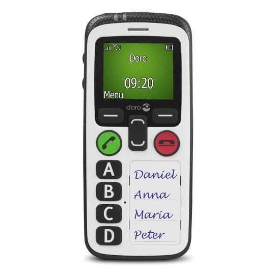 Doro Secure 580 18 100g Color blanco