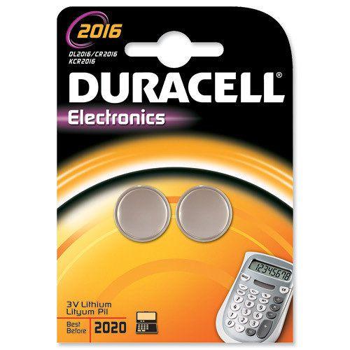 Duracell Dl2016b2 Litio 3v Bateria No Recargable