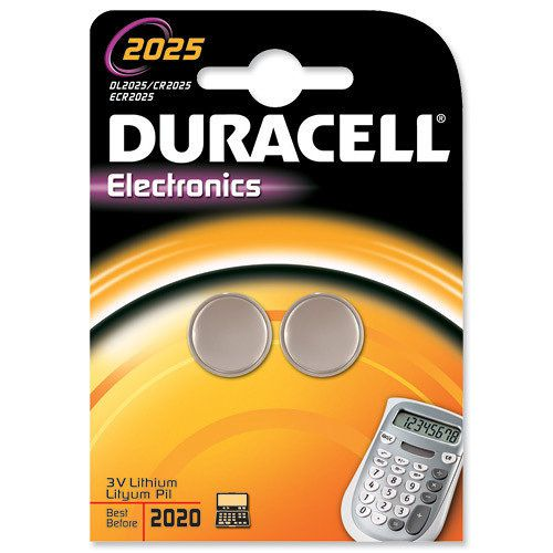 Duracell DL2025B2 Litio 3V bateria no recargable