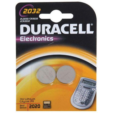 Ver Duracell DL2032B2 bateria no recargable
