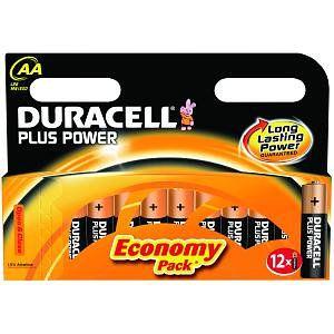 Duracell MN1500B12 Alcalino 15V bateria no recargable