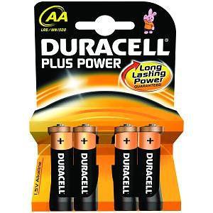 Duracell MN1500B4 Alcalino 15V bateria no recargable
