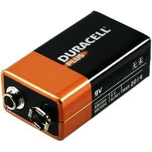 Duracell MN1604B1 Alcalino 9V bateria no recargable