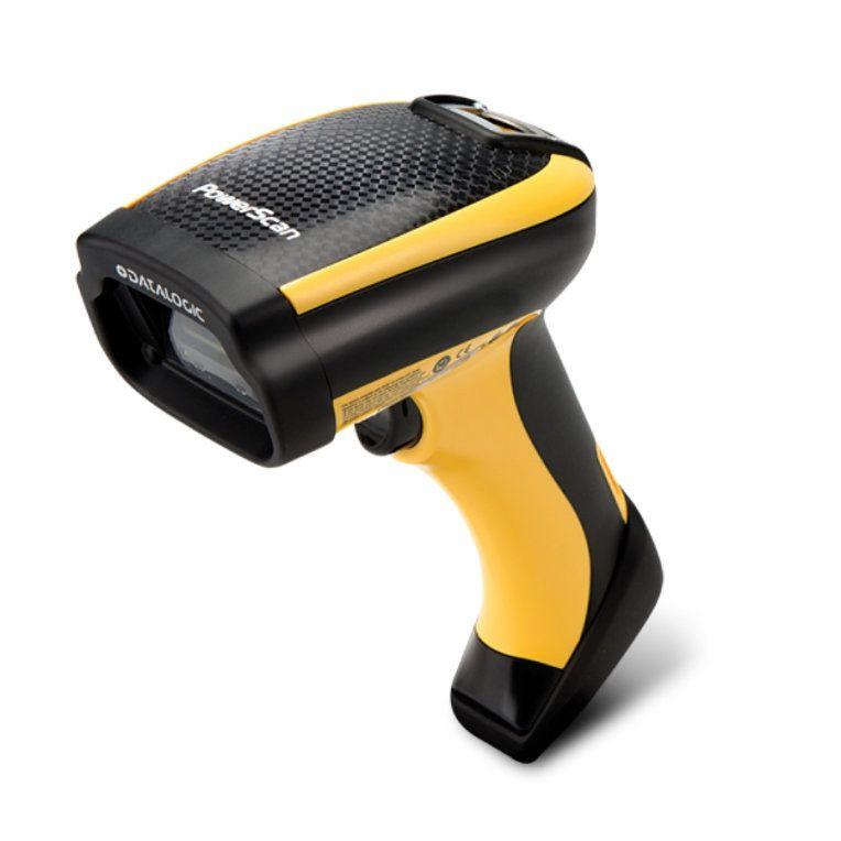 Escaner Datalogic Powerscan Pm9501 2d 433 Mhz Std Range Usb Removable Battery