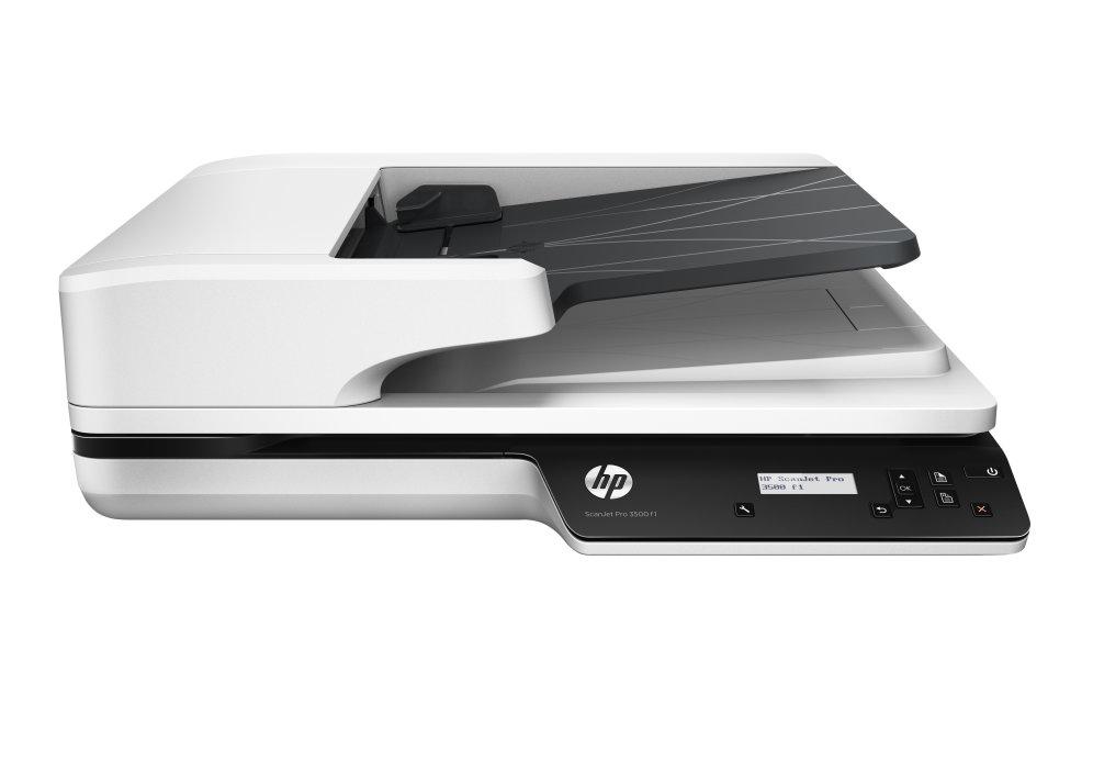 Escaner Hp Scanjet Pro 3500 F1 25ppm50ipm Duplex 1200ppp 50 Hojas