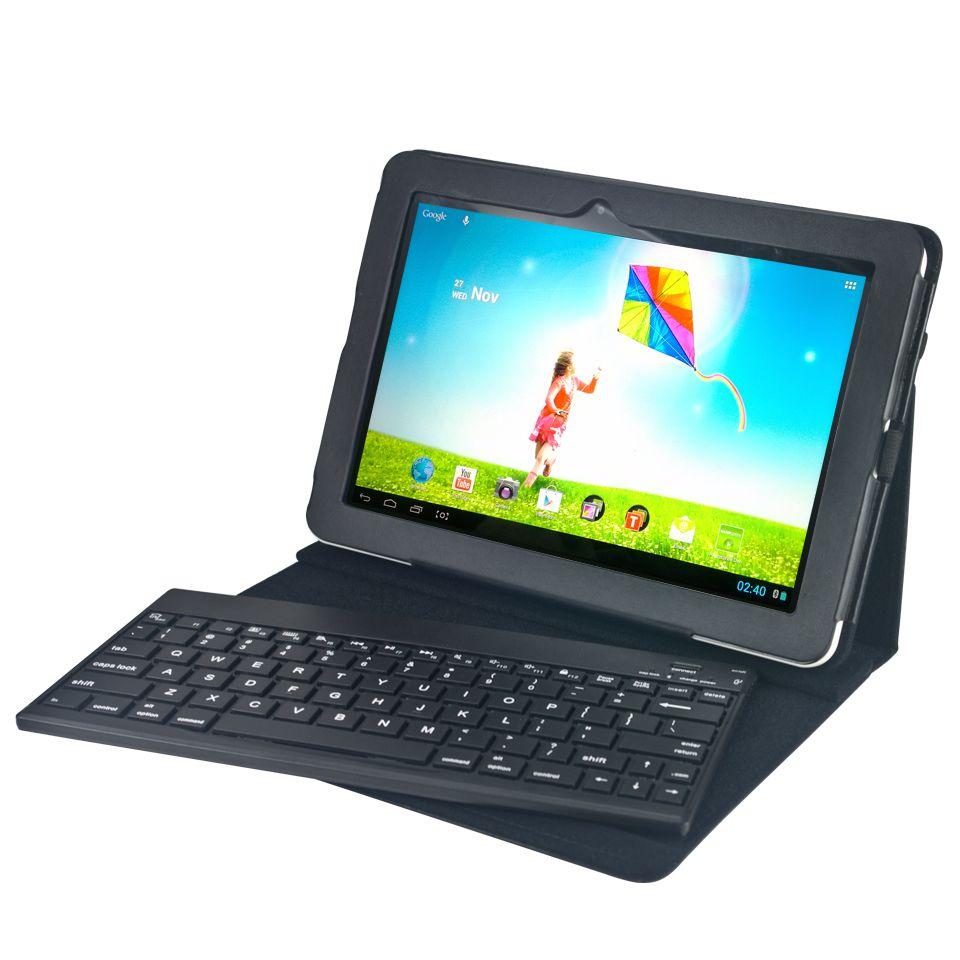 Tablet pc funda teclado bluetooth hannns 10 1 - Funda teclado bluetooth ...