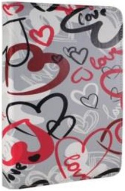 Funda Tablet E-vitta Crazy Hearts Cover Stand 7