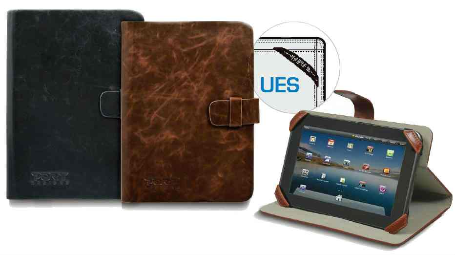 Ver Funda Tablet MANILLE 7 TABLET UNIV BLACK LEATHER