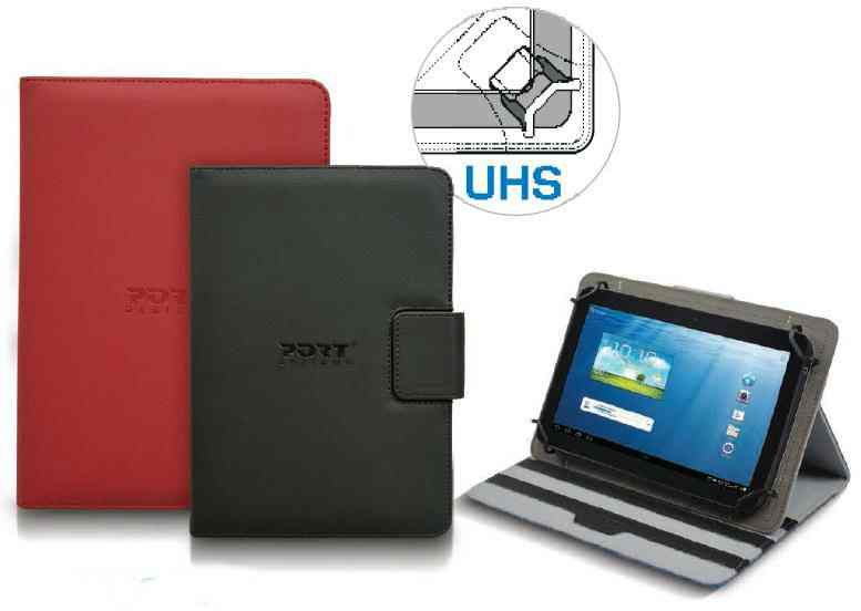 Ver FUNDA MUSKOKA 7 UNIV TABLET DARK RED