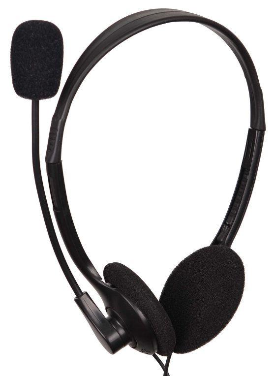 Ver Gembird MHS 123 Binaurale Diadema Negro auricular con microfono