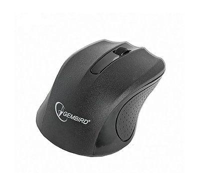 Gembird MUSW 101 RF inalambrico 1200DPI Ambidextro Negro