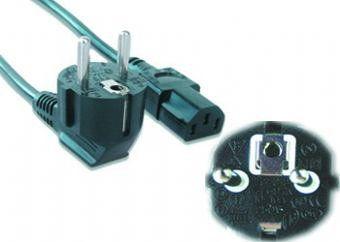 Gembird PC 186 VDE 5M 5m Negro cable de transmision