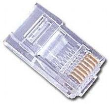 Gembird PLUG3UP650 RJ 45 Transparente conector