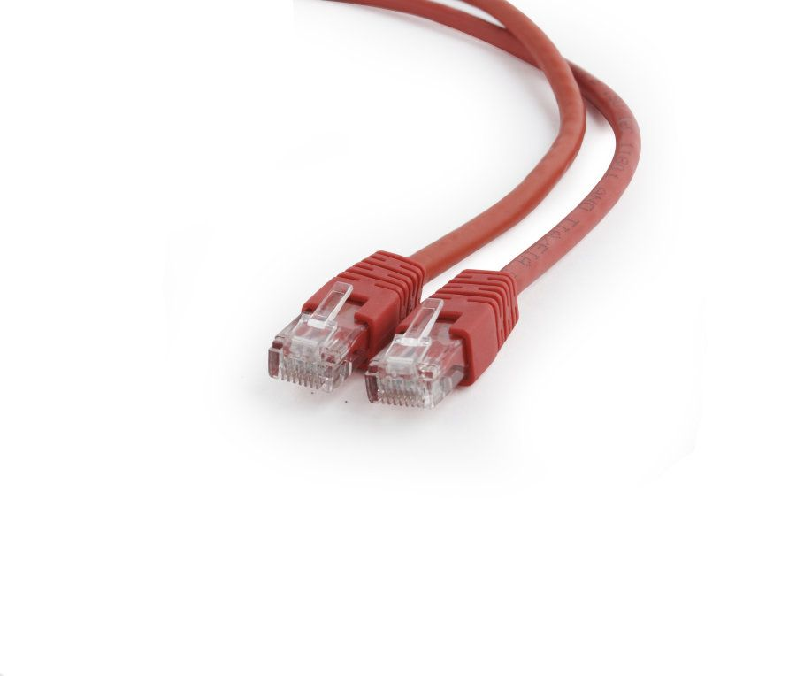 Gembird PP6U 3MR UUTP UTP Rojo Cat6 cable de red