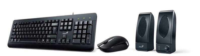 Genius KMS U130 USB Negro teclado