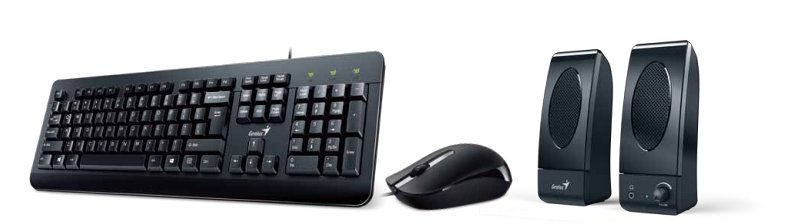 Ver Genius KMS U130 USB Negro teclado