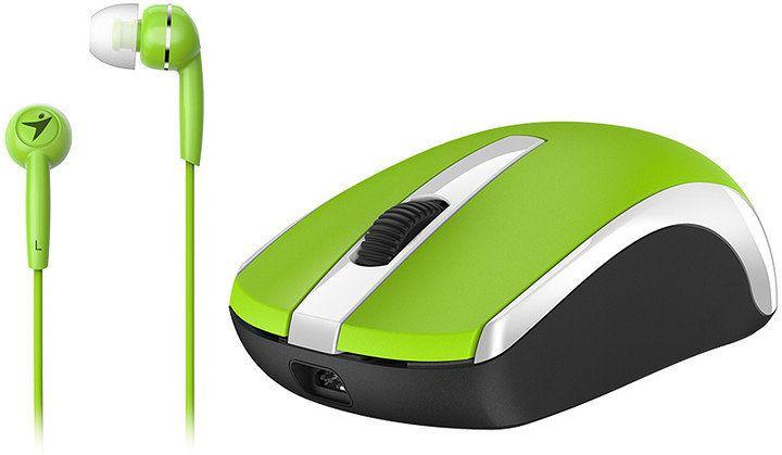 Ver Genius MH 8100 inalambrica USB BlueEye 1600DPI Verde