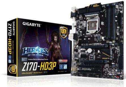 Ver Gigabyte GA Z170 HD3P rev 1 0