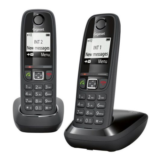 Ver Gigaset AS405 Duo DECT Negro