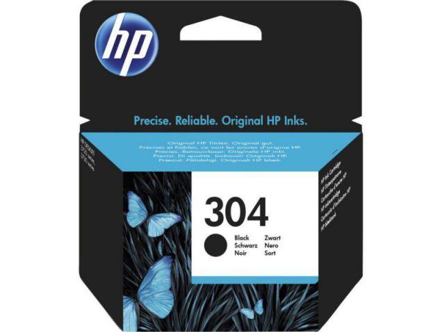 HP Cartucho de tinta Original 304 negro