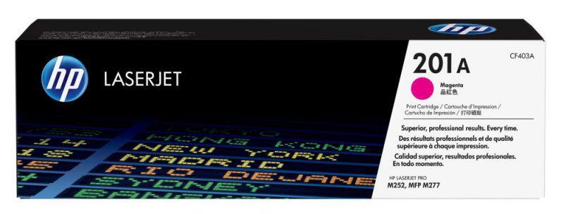 Ver HP Cartucho de toner original LaserJet 201A magenta