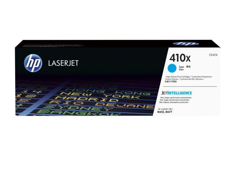 HP Cartucho de toner original LaserJet 410X cian de alta capacidad