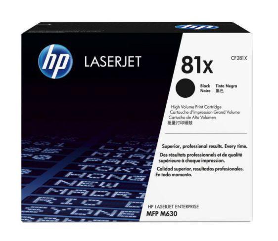 Ver HP Cartucho de toner original LaserJet 81X de alta capacidad negro
