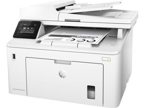 Ver HP LaserJet Pro M227fdw Laser A4 Wifi Color blanco
